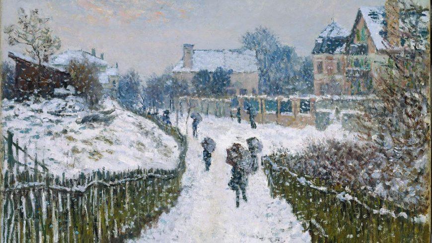 Έργα τέχνης που αποτυπώνουν υπέροχα τα χιονισμένα τοπία