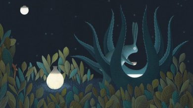 The moon's magical mythology captured in an illustrated book by David Álvarez