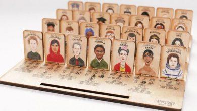 Ένα ξύλινο παιχνίδι συστήνει στα παιδιά τις πιο σημαντικές γυναίκες στην ιστορία