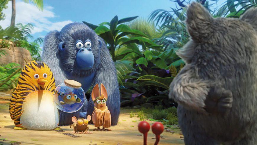 Η παιδική ταινία «Η Ζουγκλοπαρέα» στη Βασιλική