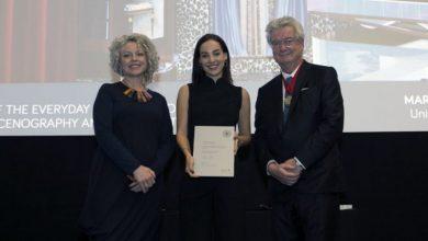 Η 25χρονη Μαρίλια Λέζου μόλις βραβεύτηκε από το Βασιλικό Ινστιτούτο Βρετανών Αρχιτεκτόνων