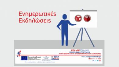 Ημερίδα ενημέρωσης των επιχειρήσεων για τα προγράμματα ΕΣΠΑ