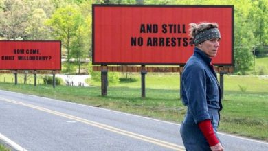 «Οι τρεις πινακίδες έξω από το Έμπινγκ, στο Μιζούρι» από την Κινηματογραφική Λέσχη του Ορφέα