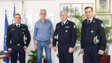 Συνάντηση του Δημάρχου Λευκάδας με τον νέο Αστυνομικό Διευθυντή