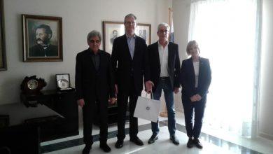 Συνάντηση Δημάρχου Λευκάδας με τον αναπληρωτή αρχηγό της πρεσβείας της Μεγάλης Βρετανίας