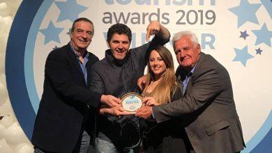 Η Λευκάδα στο πιο ψηλό βάθρο. Χρυσό Βραβείο στα Tourism Awards 2019 για τον Πέτρο Κούρτη και το Artventure Camp