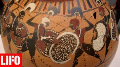 Μορφές ενός αρχαιοελληνικού αγγείου ζωντανεύουν και μπαίνουν στη μάχη