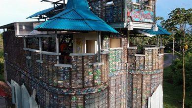 Αυτό είναι το χωριό από πλαστικά μπουκάλια στον Παναμά