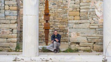 Στην ανοιξιάτικη Δήλο ανθίζει για πρώτη φορά η σύγχρονη τέχνη χάρη στον Antony Gormley