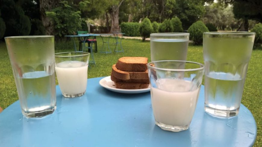 For the slow traveller: Reward yourself in Lefkada, try somada!