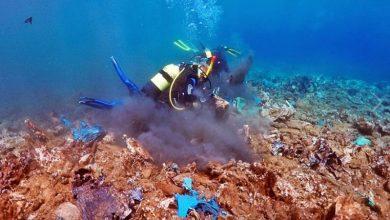 Έχετε δει ποτέ έναν κόλπο γεμάτο «πλαστικά κοράλλια»; – Μια θλιβερή εικόνα στο βυθό της Άνδρου