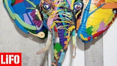 Ο Bordalo II μετατρέπει τα σκουπίδια σε έργα τέχνης