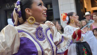 Στιγμιότυπα από την έναρξη του 57ου Διεθνούς Φεστιβάλ Φολκλόρ Λευκάδας