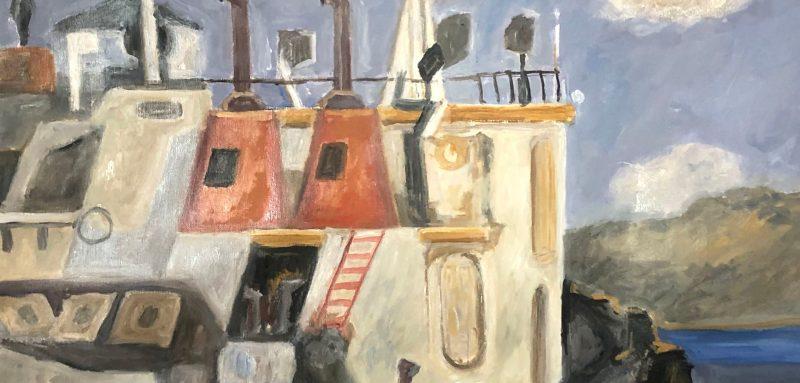 H έκθεση ζωγραφικής του Παντελή Σταματέλου «Λευκάς-Αθήνα-Ουψάλα» στην Αίθουσα Τέχνης Θεόδωρος Στάμος