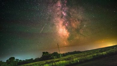 Earth's rotation visualized in a timelapse of the Milky Way Galaxy by Aryeh Nirenberg
