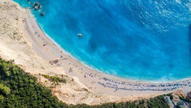 Η παραλία στη Λευκάδα που κόβει την ανάσα