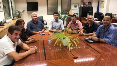 Συναντήσεις Δημάρχου Λευκάδας Χαράλαμπου Καλού με τον Εμπορικό Σύλλογο Λευκάδας και τονΣύλλογο Φοιτητών Λευκάδας
