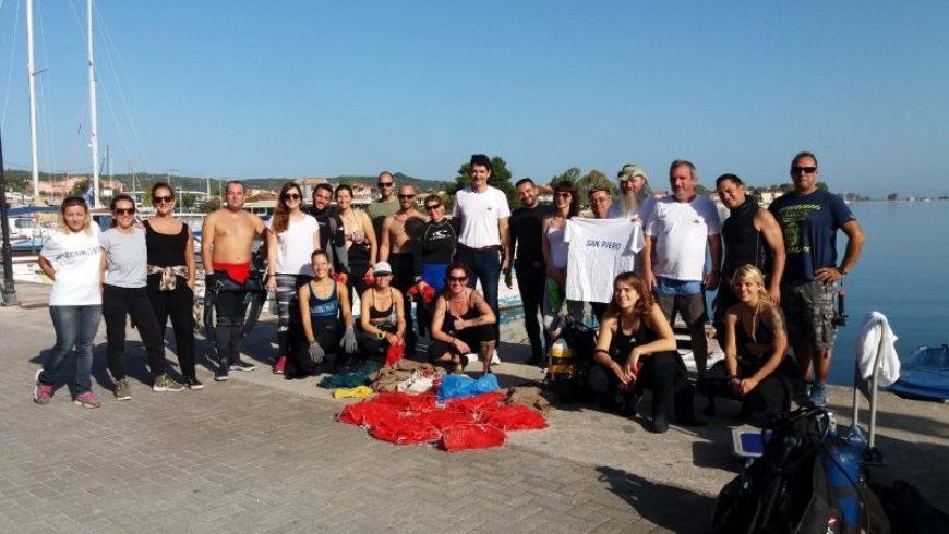 Τα αποτελέσματα των περιβαλλοντικών δράσεων του Δήμου Λευκάδας σε συνεργασία με την ομάδα της Aegean Rebreath