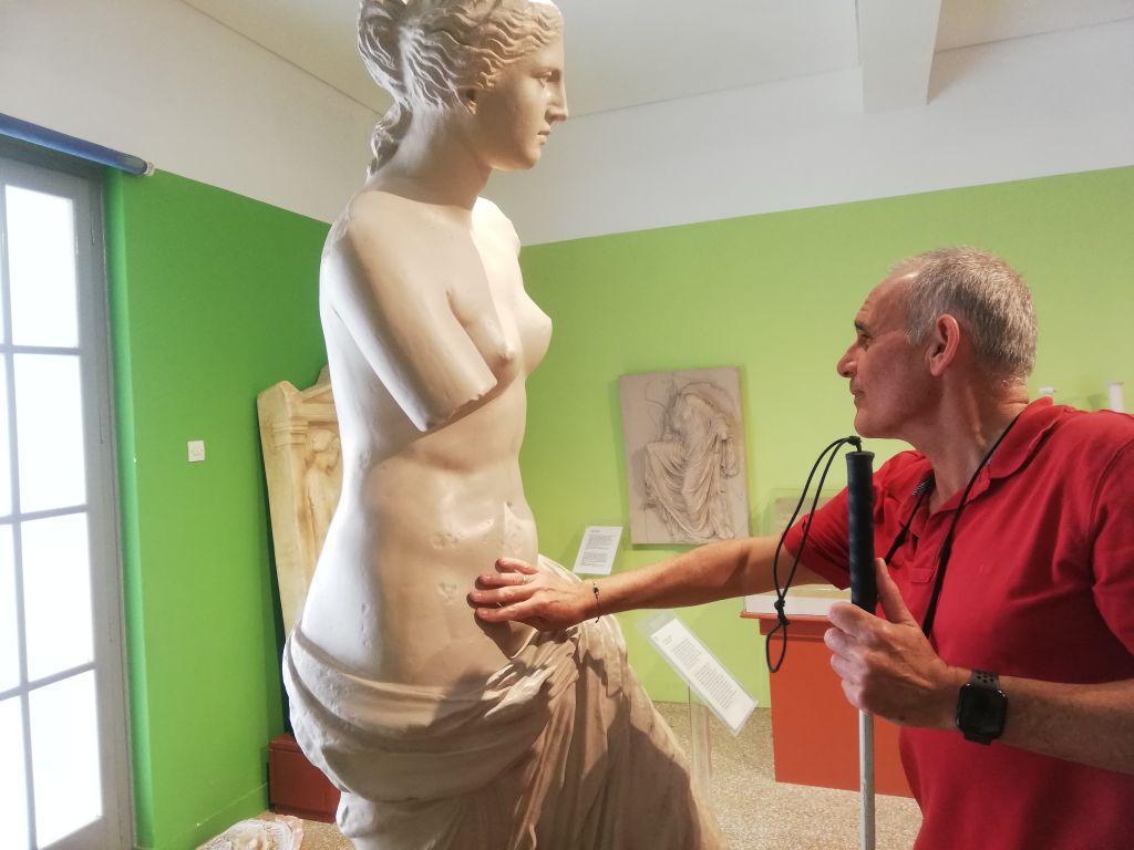 Στο Μουσείο Αφής μπορείς να αγγίξεις την ιστορία