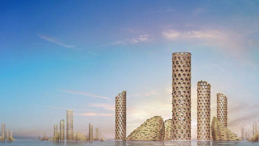 Μια «οικολογική» πόλη του μέλλοντος βυθισμένη στο νερό