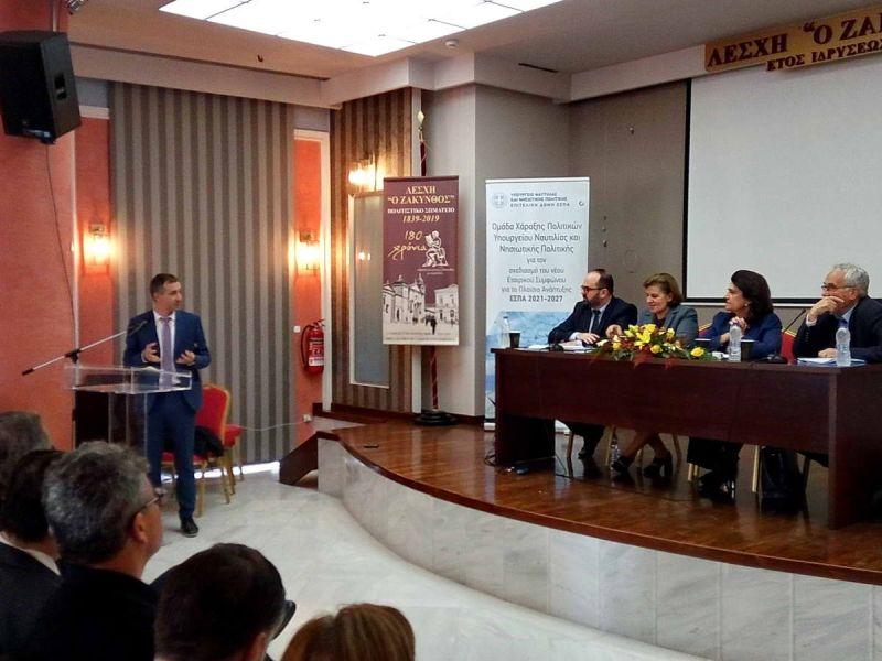Υποδομές κρουαζιέρας και άρση της απομόνωσης των μικρών νησιών ζήτησε ο Αντιπεριφερειάρχης Λευκάδας