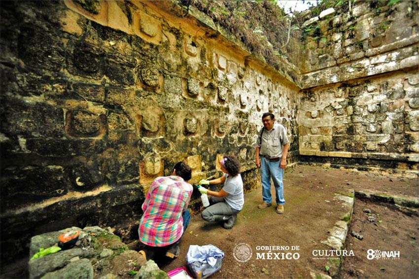 Αχανές παλάτι των Μάγια αποκαλύφθηκε σε ανασκαφές στο Μεξικό