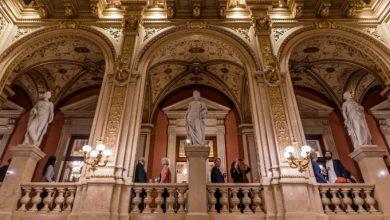 Επισκεφτήκαμε την περίφημη Όπερα της Βιέννης