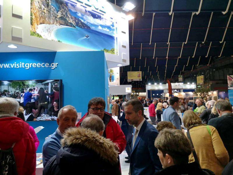 Η Λευκάδα τιμώμενος προορισμός στη διεθνή τουριστική έκθεση της Ουτρέχτης Vakantiebeurs