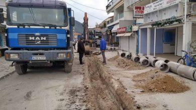 Προχωρά η ανάπλαση του κεντρικού δρόμου στο Νυδρί