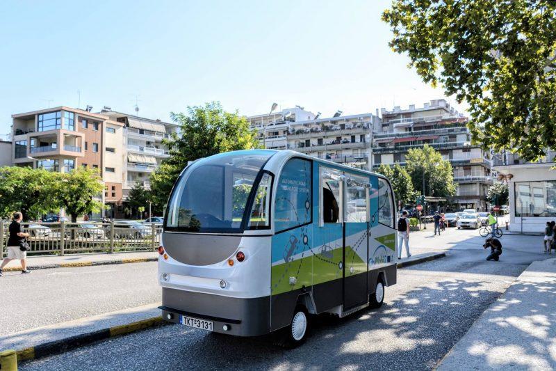 Τρίκαλα: Στους δρόμους σύντομα τα δύο ηλεκτρικά λεωφορεία χωρίς οδηγό