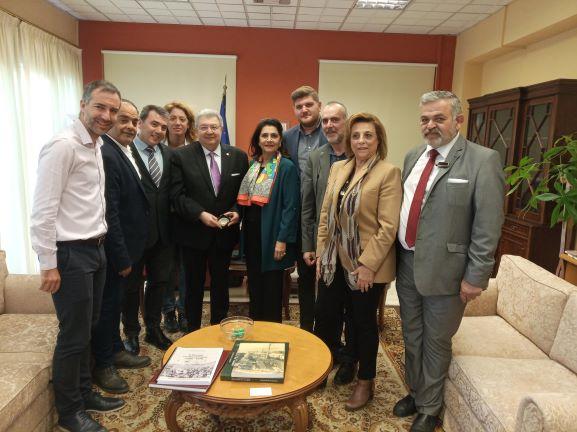 Συνάντηση της Περιφερειάρχη Ιονίων Νήσων με το Γενικό Γραμματέα Απόδημου Ελληνισμού