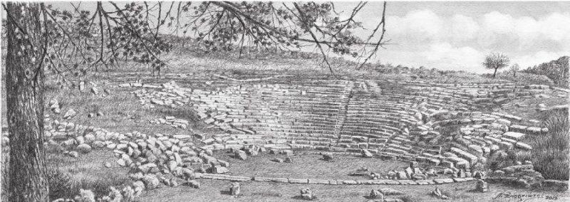 Παρουσίαση του λευκώματος «Εικαστική Διαδρομή σε επτά αρχαία θέατρα της Ηπείρου» στην Πρέβεζα