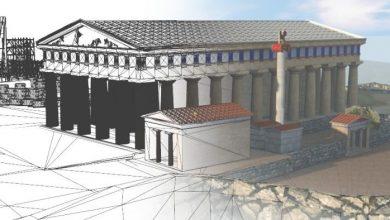 Τρισδιάστατη ξενάγηση στην Αρχαία Αθήνα από τον digital artist Δημήτρη Τσαλκάνη
