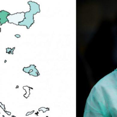 Κορωνοϊός: Ο νέος χάρτης της πανδημίας στην Ελλάδα