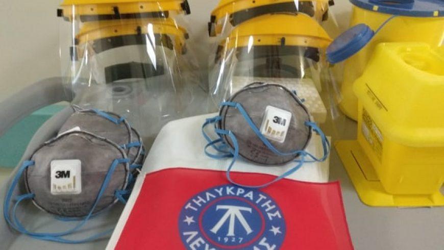 Ο Τηλυκράτης ενισχύει το νοσοκομείο Λευκάδος στη μάχη για τον κορωνοϊό