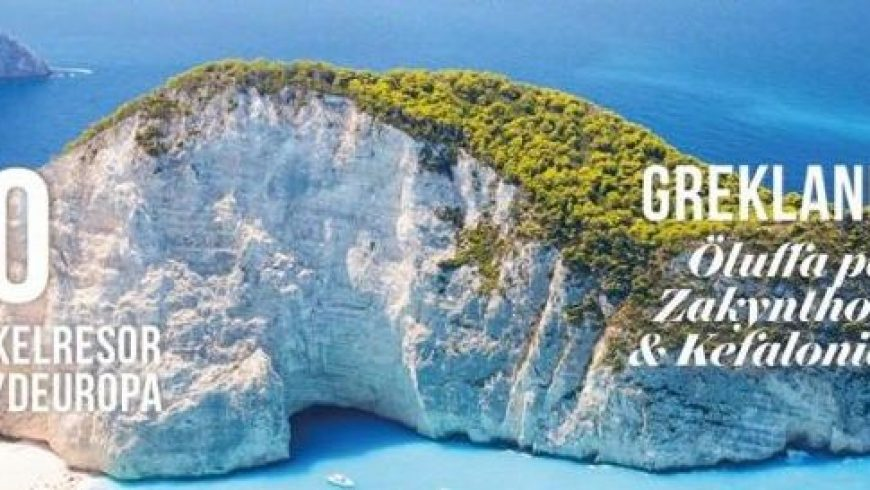 Sweden's Vagabond magazine looks to inspire travel to Greece after Covid-19