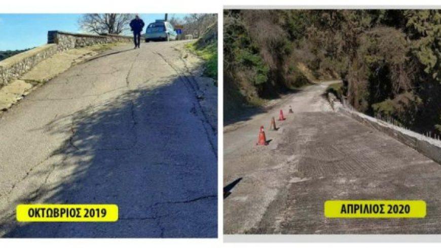 Π.Ε. Λευκάδας: Κατασκευή τοιχίου αντιστήριξης και αποκατάσταση του επαρχιακού δρόμου στην Εγκλουβή
