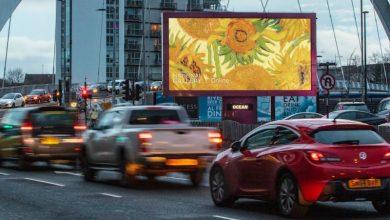 Τα Χρυσάνθεμα του Βαν Γκογκ και τα Νούφαρα του Μονέ στους δρόμους των βρετανικών πόλεων