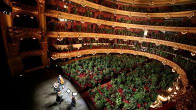 Με 3.000 φυτά αντί για θεατές η πρεμιέρα της Oπερας της Βαρκελώνης μετά το lockdown