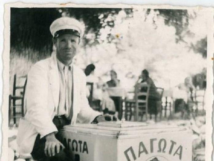 Παγωτό! Οταν το '50 οι πλανόδιοι το πουλούσαν με καροτσάκια – Σε βαρέλια με πάγο και αλάτι