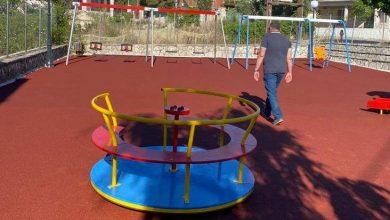 Δήμος Μεγανησίου: Ολοκληρώθηκαν οι εργασίες στην παιδική χαρά Σπαρτοχωρίου