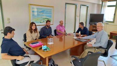 Τεχνική συνάντηση Π.Ε. Λευκάδας με Πανεπιστήμιο Πατρών για το καταφύγιο σκαφών αναψυχής στο Νυδρί
