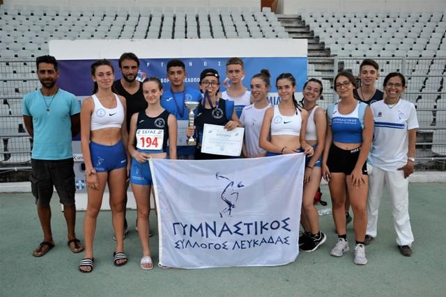 Δύο νέοι πανελληνιονίκες για τον Γυμναστικό Σύλλογο Λευκάδας