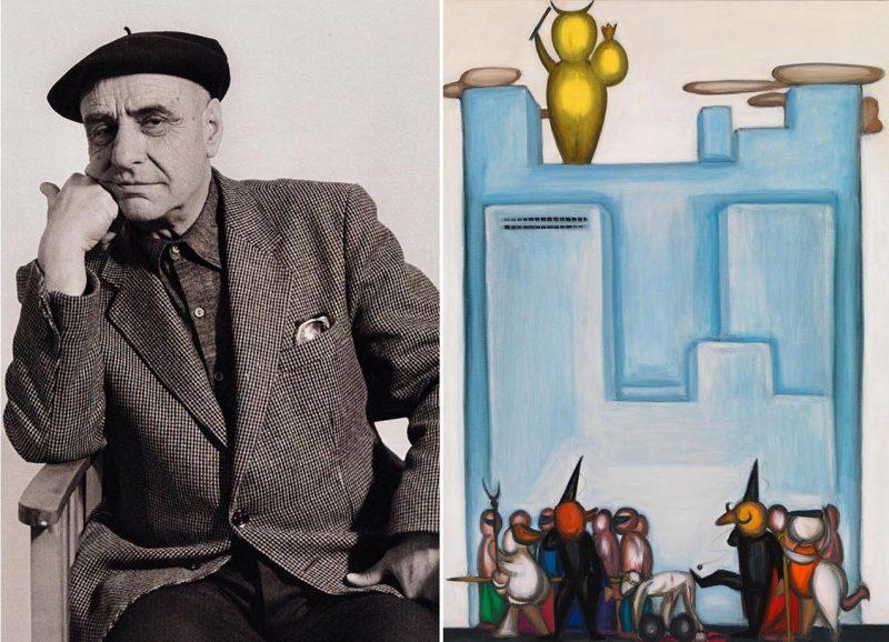 «Τερατολογίες. Η Ιστορία του Ανθρώπου» έκθεση ζωγραφικής του Διαμαντή Διαμαντόπουλου
