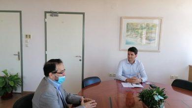 Συνάντηση γνωριμίας του Δημάρχου Λευκάδας με τον Μορφωτικό Σύμβουλο της Πρεσβείας του Ιράν