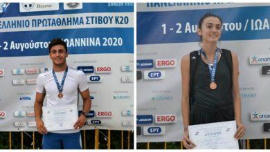 Γυμναστικός Σύλλογος Λευκάδας: Ιωακειμίδη και Φυτόπουλος ξανά σε βάθρο Πανελληνίου Πρωταθλήματος