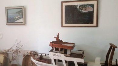 Παραχώρηση έργων της Λευκαδιακής Πινακοθήκης στο Κοινοτικό Κατάστημα Κατούνας