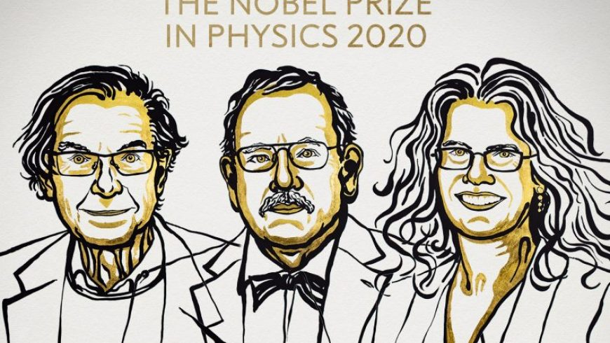 Νόμπελ Φυσικής 2020 : Τρεις επιστήμονες έριξαν φως στις μαύρες τρύπες