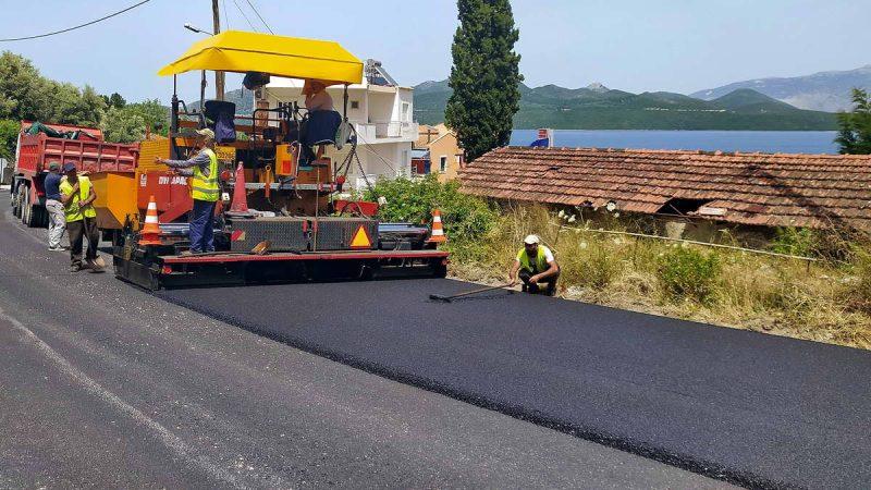 4.100.000 ευρώ για έργα οδοποιίας στην Π.Ε. Λευκάδας