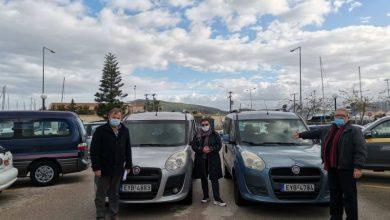 Δωρεά οχημάτων στον Δήμο Λευκάδας